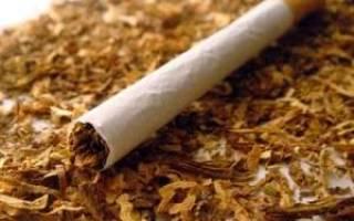 Сигареты с настоящим табаком