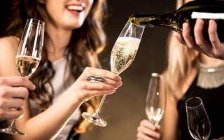 Сколько выветривается шампанское