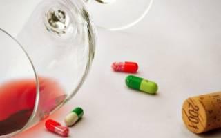 Эритромицин и алкоголь