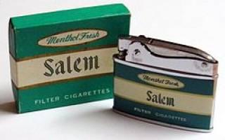 Сигареты Салем
