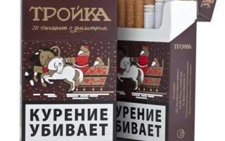 Сигареты Тройка
