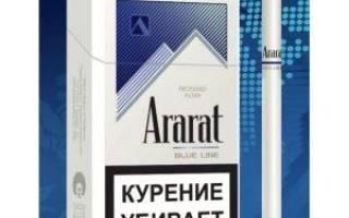 Сигареты Арарат