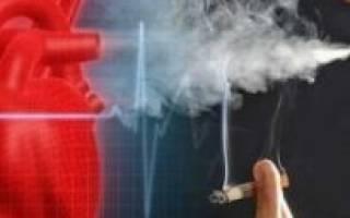 Как курение влияет на сосуды?
