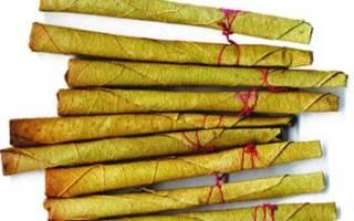 Индийские сигареты Биди