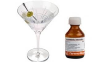 Валериана и алкоголь
