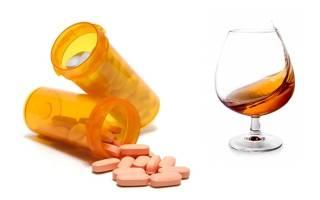 Крестор и алкоголь