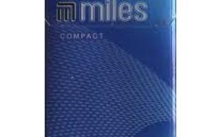 Сигареты Miles