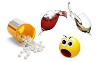 Эсциталопрам и алкоголь